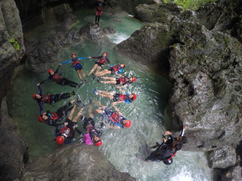 Alegria Badian Canyoneering