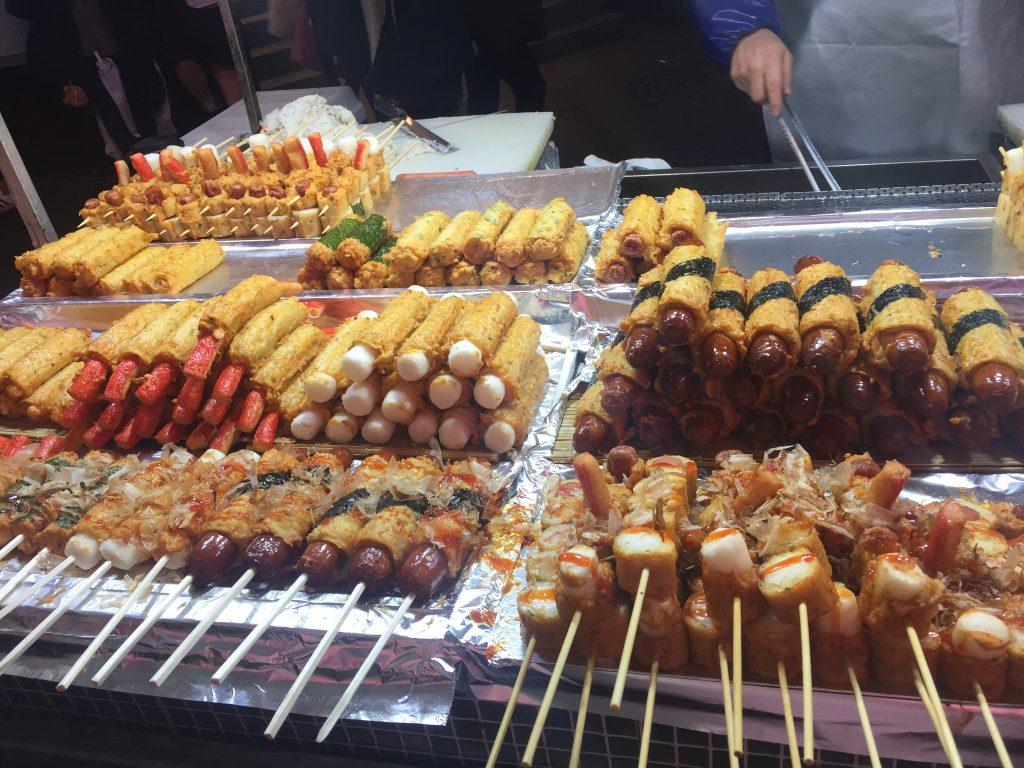Myeongdong Street Foods