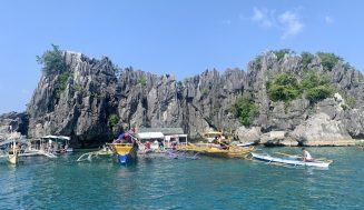 KANDIWATA ROCK FORMATION: Dubbed as Small Palawan of Daram, Samar